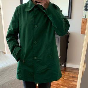 ‼️LONDON FOG green trench coat
